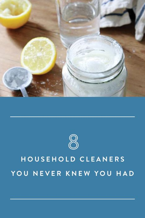 8 Cleaners You Never Knew You Had via @PureWow