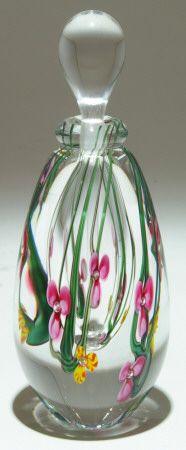Perfume Bottle from Art Glass