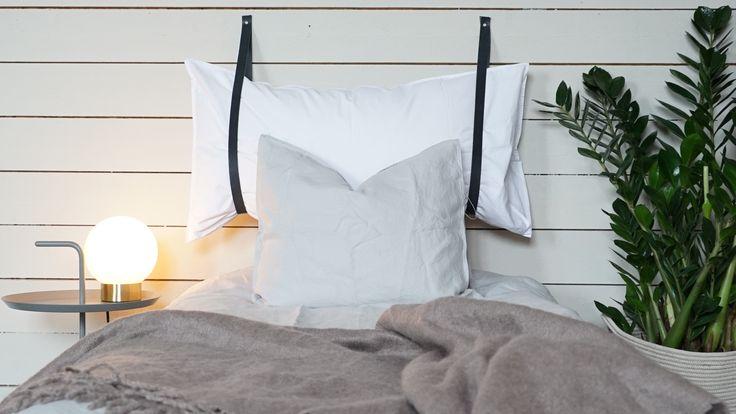 Mjuk sänggavel som du enkelt kan göra själväntligen Hemma Gör Det Själv Pinterest