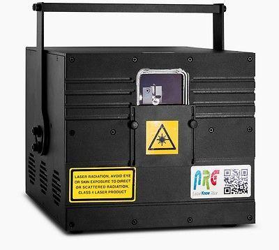NRG-Boxer-6000RGB Laser Light Show Full Colour Projector