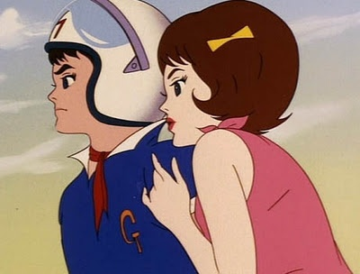 Speed Racer and trixie....the original anime. My brother and I used to watch this all the time.