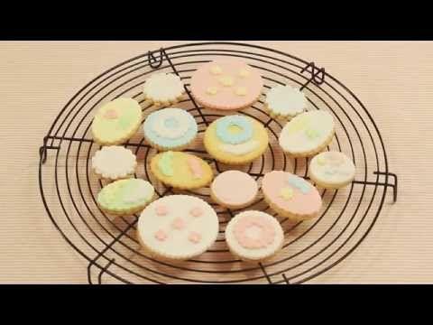 マシュマロフォンダンクッキー用キットの使い方★ - YouTube
