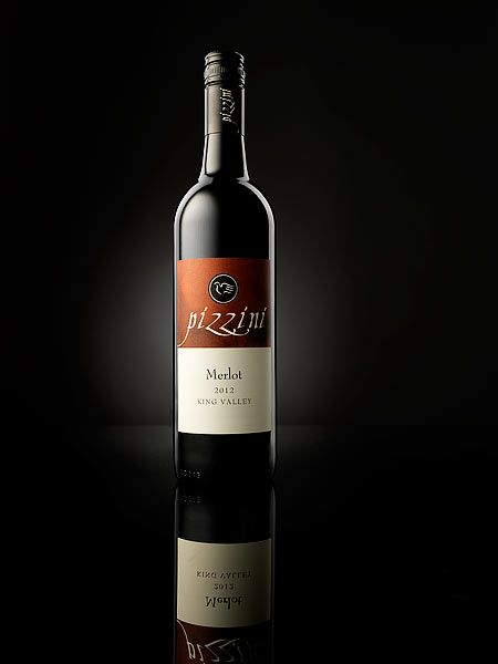 Wine bottle studio Photography by Melbourne Product Photographer Ivan Lee