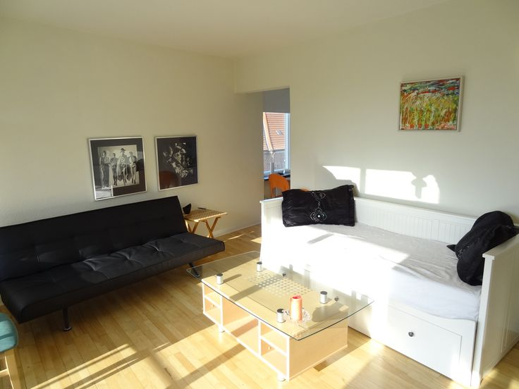 This nice top floor apartment is located in quiet Østerbro just 5 minutes from Svanemøllen station. The balcony lets you dine in fresh air, and the sunshine brightens the lounge during afternoons. The kitchen have room for up to 4 people and is equipped with kettle and micro wave. Modern bathroom with washing machine Lot of nearby shopping and take-ways.