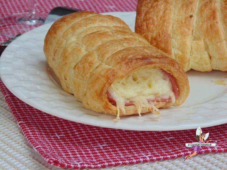 Roulés au jambon et fromage. Recette de cuisine ou sujet sur Yumelise blog culinaire. Et oui... Des roulés faits maison : tout simplement extra ! Après avoir confectionné et goûté ceux-là c'est sûr, je n'en achèterai plus !