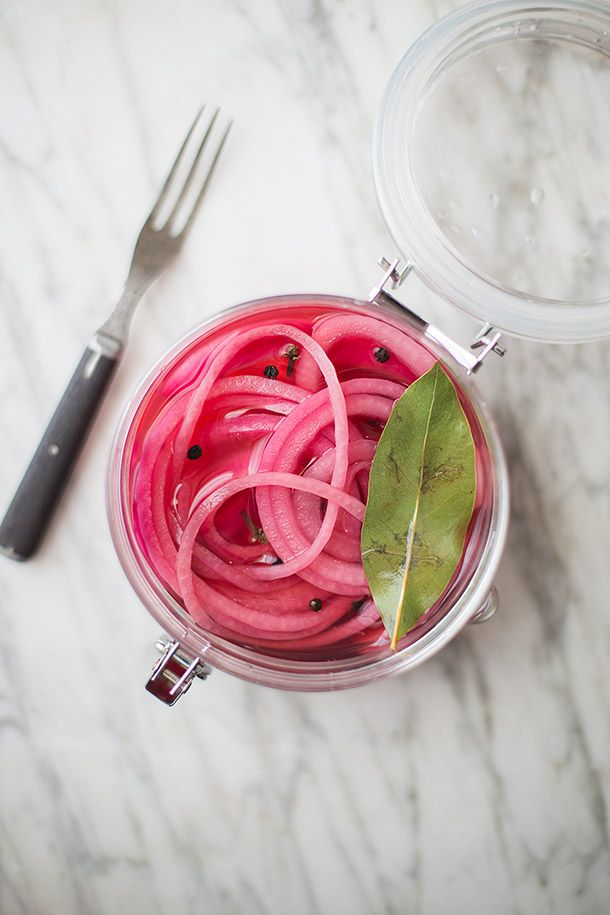 paleo pickled red onions - aip compliant
