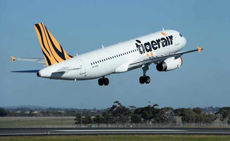 Tigerair  International direct flight from Australia