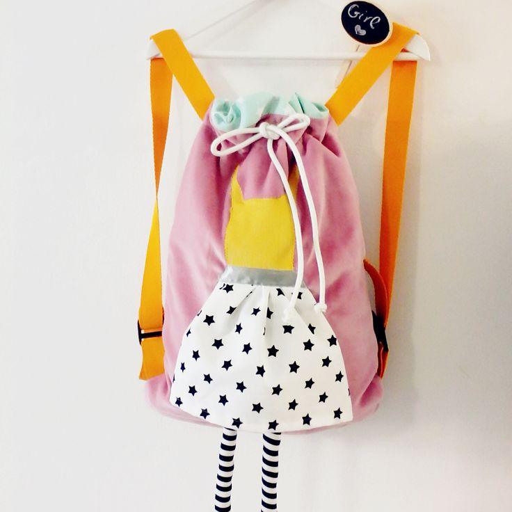 handmade kids backpack for girls Χειροποίητο νηπιακό παιδικό σακίδιο πλάτης για  κορίτσι, παιδικη τσαντα για κοριτσια