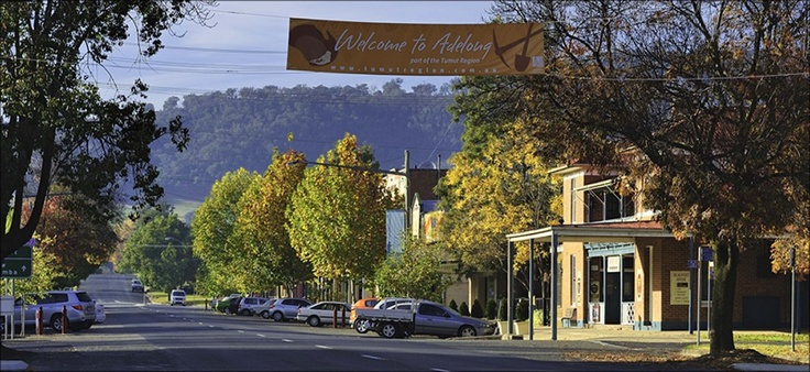 Such a gorgeous heritage town - Adelong