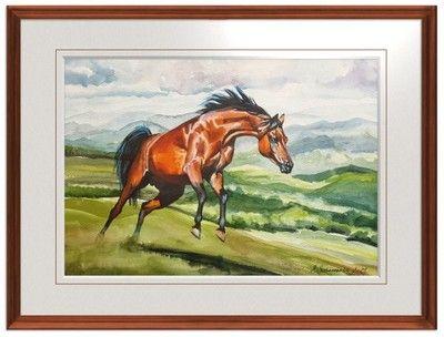 Sochaczewska - cykl Konie - Nieograniczony 52x40cm