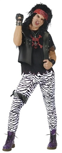 80s Glam Rocker (Mens) - The Best 50's, 60's, 70's, & 80's Costumes and Accessories in the World - Funwirks.com