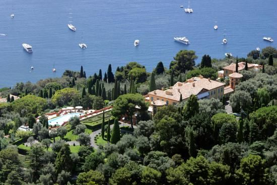Villefranche-sur-Mer, south-eastern France, the villa of Leopolda, property of the widow of businessman Edmond Safra, Lilly Safra.