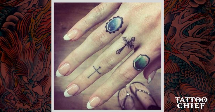 Check out Crosses on finger tattoo or other cross finger tattoo designs that…