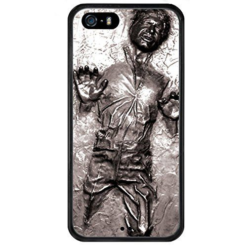 iPhone SE Case Onelee Disney Cartoon Movie Star Wars,Han Solo,Death Star,Darth Vader Tire tread pattern TPU Rubber Black iPhone 5s Case Neverfade Scratchproof Case >>> To view further for this item, visit the image link.
