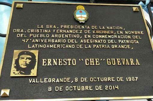 Cristina en representación del pueblo Argentino