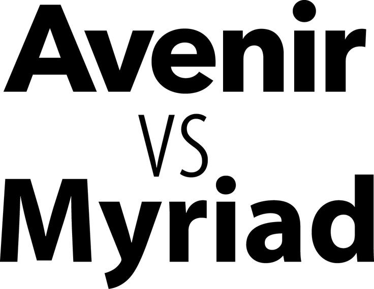 Avenir Vs Myriad With Images Nintendo Wii Logo Gaming Logos