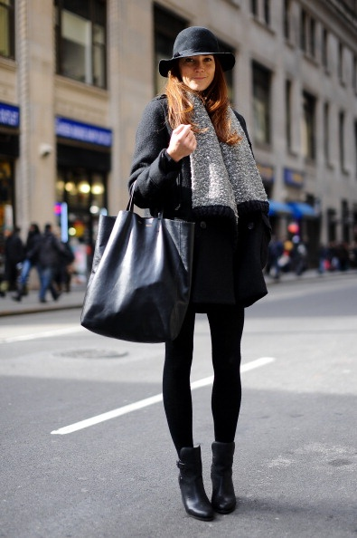 Nice silhouette - don't need a bag that huge though