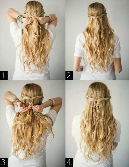 Peinado fácil y raído en pocos minutos