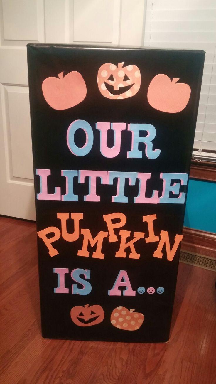 Best 25+ Pumpkin gender reveal ideas on Pinterest | Fall gender ...