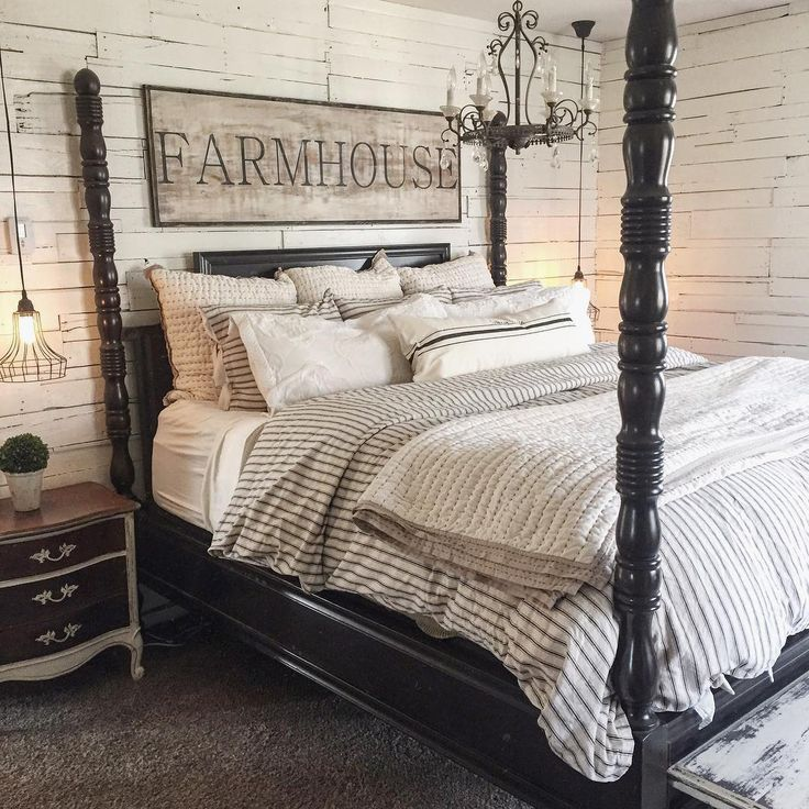 Masterbedroom Rustic Farmhouse Therustybee