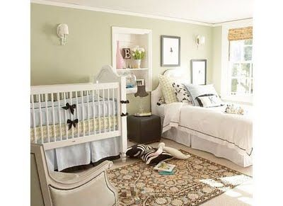 Crib And Twin Bed Shared Bedroom Layout Not That Their