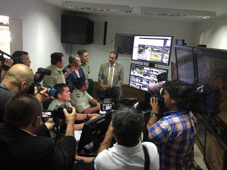 Entrega 2 etapa, Sala Espejo Concepción CCTV IP, Avigilon, Vídeo de Alta Definición en Chile, Megapixel