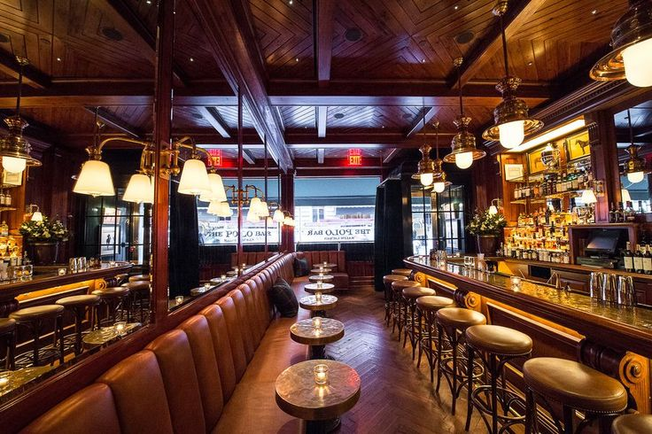 Ralph Lauren's Polo Bar Lets Ordinary Folk Feel Like the Landed Gentry for an Evening - Eater NY