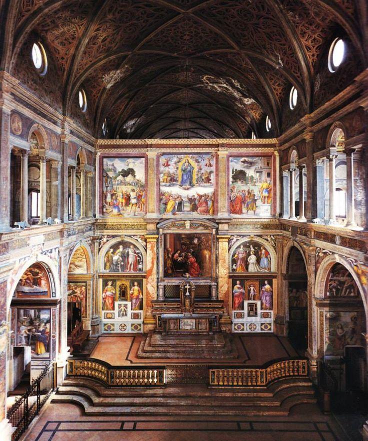 Bernardino Luini - Storie sacre, 1522-1530 Chiesa di San Maurizio al Monastero Maggiore, Milano.