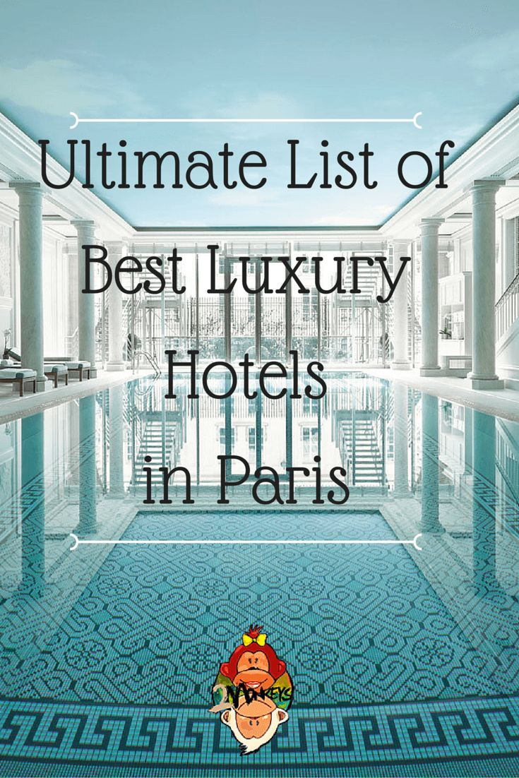 Searching for the perfect hotel can be a bit overwhelming, especially when there are so many to choose from. Below is the ultimate list of THE BEST LUXURY HOTELS IN PARIS, including prices, reviews, and locations, all in one place!
