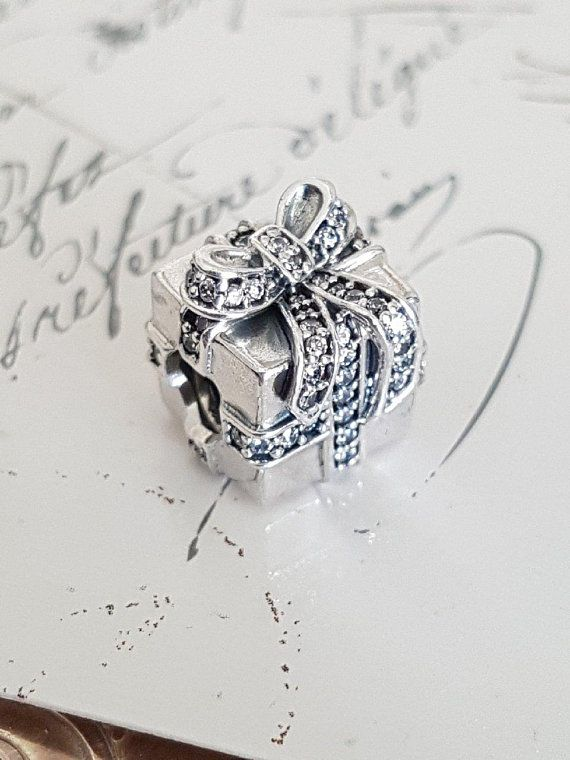 Authentic Pandora New Sterling Silver Charm With Cz Charms & Charm Bracelets Fashion Jewelry