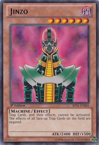 Jinzo Yu-gi-oh! TCG Machine/Effect Monster Card