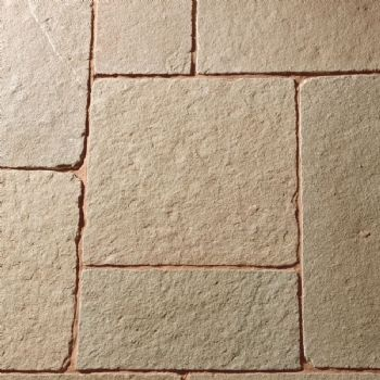 Natural Paving- Antique Limestone 'Cragstone'- Tuscan- MIXED SIZE PAVING PACK (c)