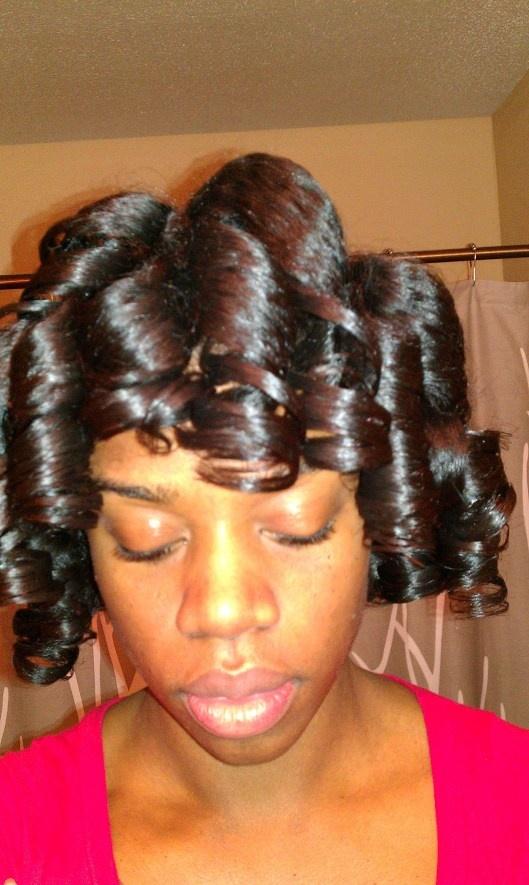 Pleasing 1000 Ideas About Roller Set On Pinterest Hair Roller Hair And Short Hairstyles Gunalazisus