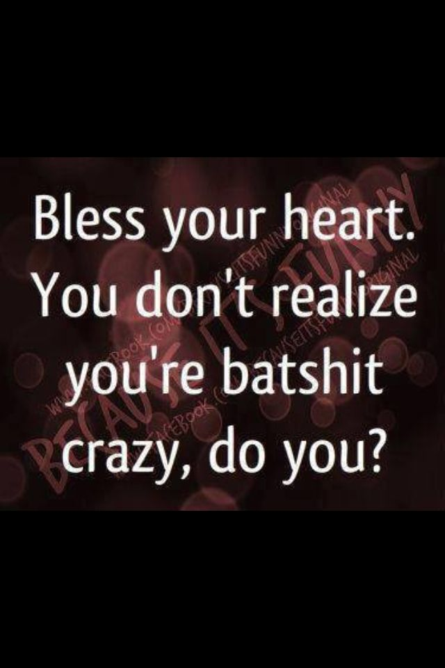 Bless your simple little heart...