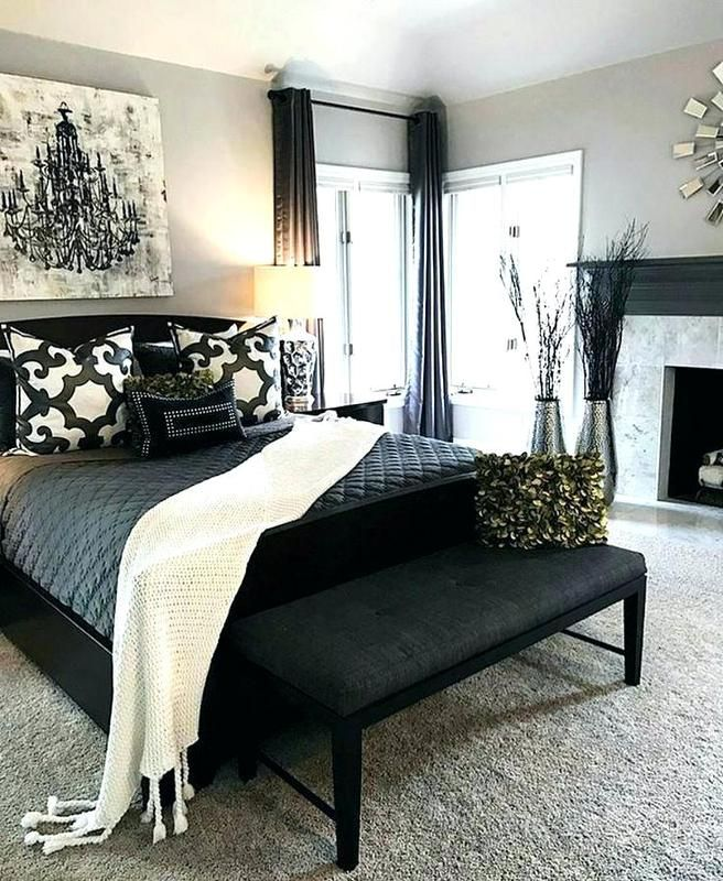 83+ Gorgeous Master Bedroom Decorating Ideas With Dark ...