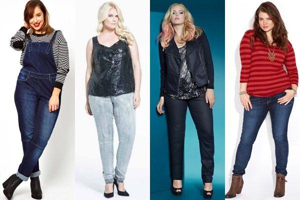 Plus Size Ankle Skinny Jeans - Jon Jean