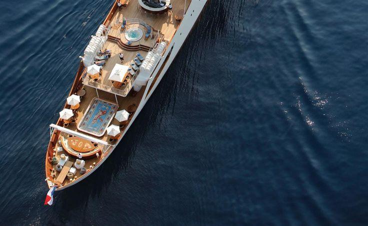 CHRISTINA O | Luxury Yacht Charters