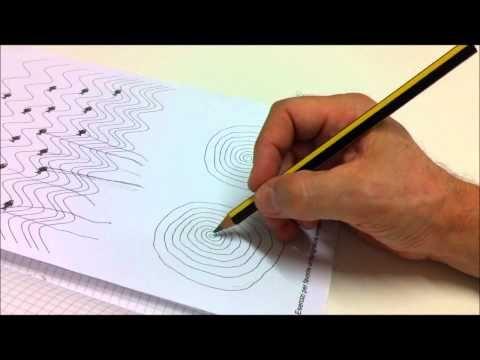 Esercizio del pescatore per i movimenti fini delle dita per favorire la scrittura
