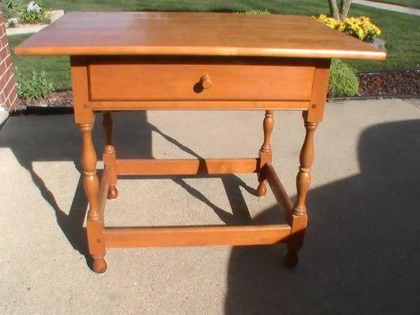 Willett Furniture.. Maple Lancaster County Table From Detroit Craigslist