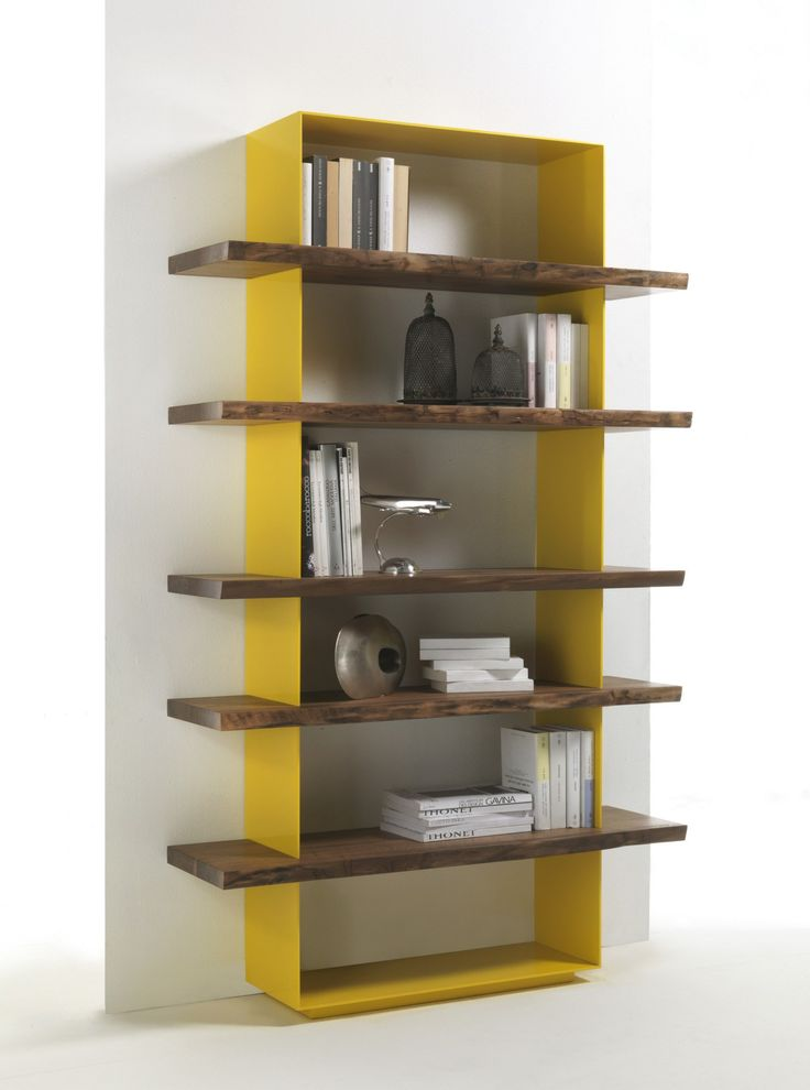 Open wooden #bookcase CRAZY - @riva1920