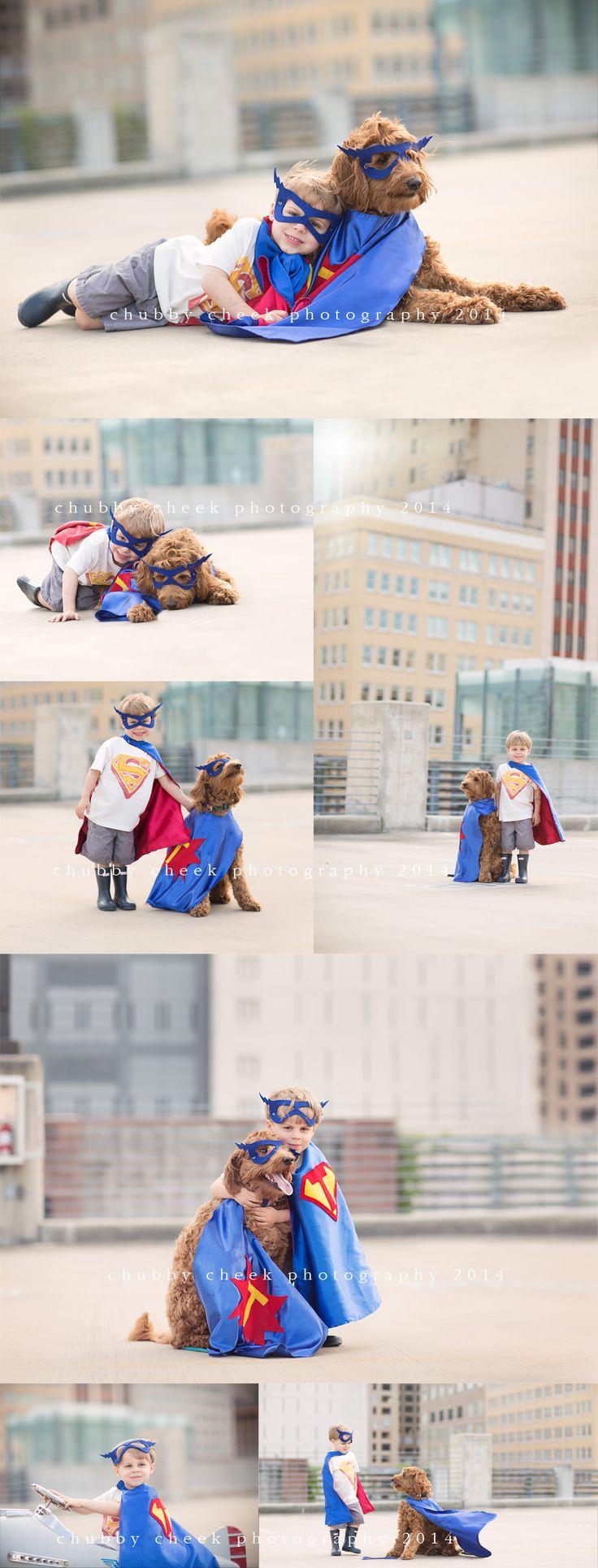 a superhero and his sidekick….riveroaks houston tx child photographer