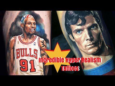 Tattoos Hyper Realism [Steve Butcher] - YouTube