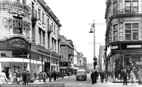 Linthorpe Road, #Middlesbrough, 1951.