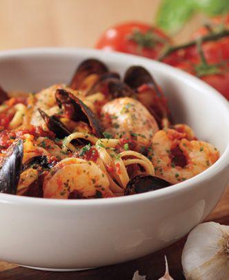 Carrabba S Italian Grill Linguine Pescatore Recipe In 2019 Seafood Recipes Linguine