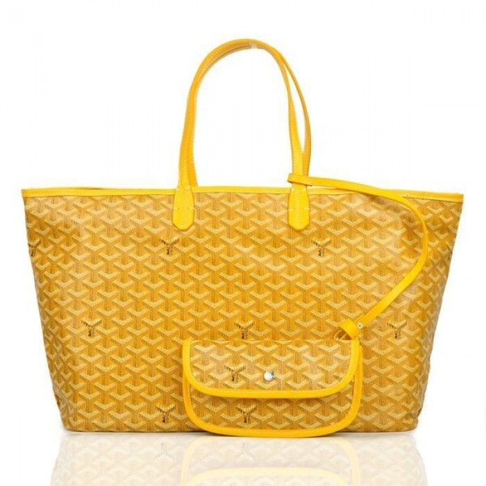 Goyard Saint Louis Tote Bag GM Yellow