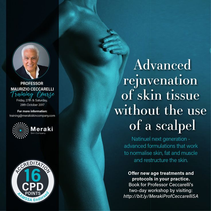 A hypertonic acidic solution induces an inflammatory reaction in the dermis, which results in the formation of new fibrotic collagen. In time, fibres retract, and this compaction distends hypotonic skin tissue. The result - a lifting effect of the skin. Offer new age treatments and protocols in your practice. Book for Professor Ceccarelli's two-day workshop by visiting: http://us16.campaign-archive2.com?e=[UNIQID]&u=4a15295b3d839d11868cb4f48&id=fbab0131b5 #ProfCeccarelli #CindyHandcock…