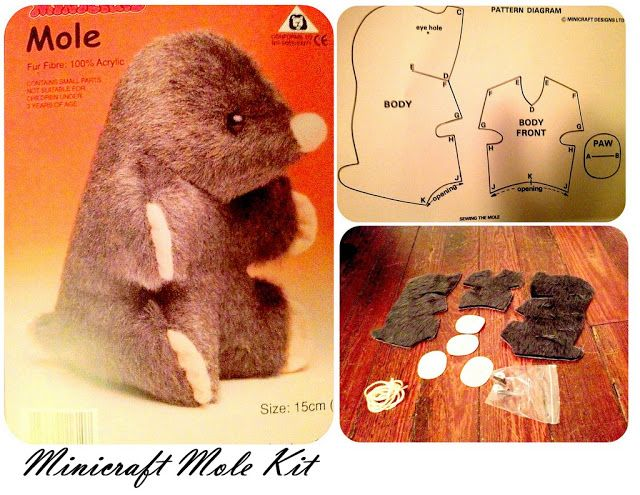 Printable mole template.