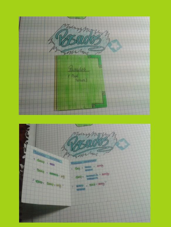 Past Tenses MiniBook. CarmenB