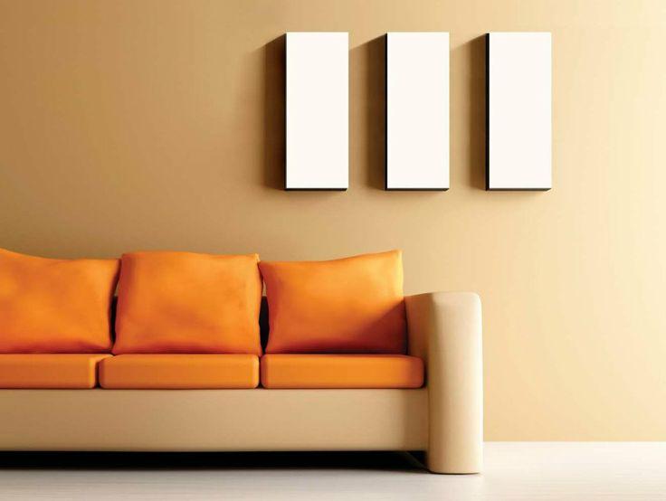 orange living room color scheme - Google Search
