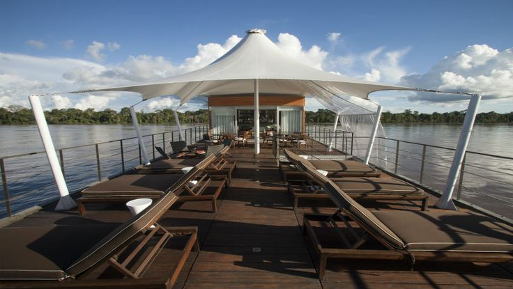 M/V Aqua Amazon Cruise was the first true luxury cruise ship on the northern Amazon River. #getlost